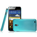 IMAK Ultrathin Matte Color Covers Hard Cases for Samsung E120L GALAXY S2 SII HD LTE - Blue