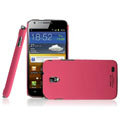 IMAK Ultrathin Matte Color Covers Hard Cases for Samsung E120L GALAXY S2 SII HD LTE - Rose