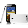 IMAK Ultrathin Matte Color Covers Hard Cases for Samsung E120L GALAXY S2 SII HD LTE - White