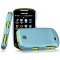 IMAK Ultrathin Matte Color Covers Hard Cases for Samsung GALAXY Mini S3850 S5570 I559 - Blue
