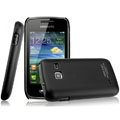 IMAK Ultrathin Matte Color Covers Hard Cases for Samsung S5380 Wave Y - Black