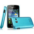 IMAK Ultrathin Matte Color Covers Hard Cases for Samsung S5380 Wave Y - Blue