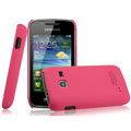 IMAK Ultrathin Matte Color Covers Hard Cases for Samsung S5380 Wave Y - Rose
