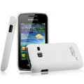 IMAK Ultrathin Matte Color Covers Hard Cases for Samsung S5380 Wave Y - White
