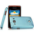 IMAK Ultrathin Matte Color Covers Hard Cases for Samsung S5690 Galaxy Xcover - Blue