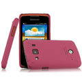 IMAK Ultrathin Matte Color Covers Hard Cases for Samsung S5690 Galaxy Xcover - Rose