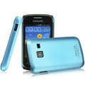 IMAK Ultrathin Matte Color Covers Hard Cases for Samsung S6102 Galaxy Y Duos - Blue