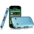 IMAK Ultrathin Matte Color Covers Hard Cases for Samsung i569 S5660 Galaxy Gio - Blue