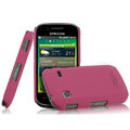 IMAK Ultrathin Matte Color Covers Hard Cases for Samsung i569 S5660 Galaxy Gio - Rose