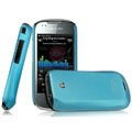 IMAK Ultrathin Matte Color Covers Hard Cases for Samsung i5800 Apollo Galaxy3 - Blue