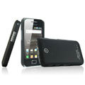 IMAK Ultrathin Matte Color Covers Hard Cases for Samsung i589 - Black