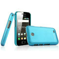 IMAK Ultrathin Matte Color Covers Hard Cases for Samsung i589 - Blue