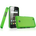 IMAK Ultrathin Matte Color Covers Hard Cases for Samsung i589 - Green