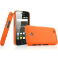 IMAK Ultrathin Matte Color Covers Hard Cases for Samsung i589 - Orange