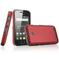 IMAK Ultrathin Matte Color Covers Hard Cases for Samsung i589 - Red