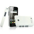 IMAK Ultrathin Matte Color Covers Hard Cases for Samsung i589 - White