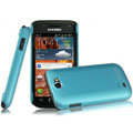 IMAK Ultrathin Matte Color Covers Hard Cases for Samsung i8150 Galaxy W - Blue
