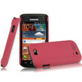 IMAK Ultrathin Matte Color Covers Hard Cases for Samsung i8150 Galaxy W - Rose
