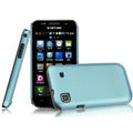 IMAK Ultrathin Matte Color Covers Hard Cases for Samsung i9003 - Blue