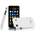 IMAK Ultrathin Matte Color Covers Hard Cases for Samsung i9008L - White