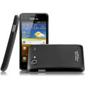 IMAK Ultrathin Matte Color Covers Hard Cases for Samsung i9070 Galaxy S Advance - Black