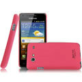 IMAK Ultrathin Matte Color Covers Hard Cases for Samsung i9070 Galaxy S Advance - Rose