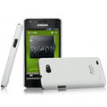 IMAK Ultrathin Matte Color Covers Hard Cases for Samsung i9103 Galaxy R - White