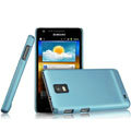 IMAK Ultrathin Matte Color Covers Hard Cases for Samsung i919 GALAXY SII - Blue