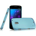 IMAK Ultrathin Matte Color Covers Hard Cases for Samsung i9250 GALAXY Nexus Prime i515 - Blue