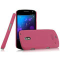 IMAK Ultrathin Matte Color Covers Hard Cases for Samsung i9250 GALAXY Nexus Prime i515 - Rose