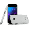 IMAK Ultrathin Matte Color Covers Hard Cases for Samsung i9250 GALAXY Nexus Prime i515 - White