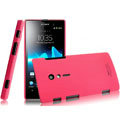IMAK Ultrathin Matte Color Covers Hard Cases for Sony Ericsson LT28i Xperia ion - Rose