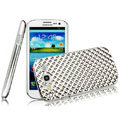 IMAK Water Cube Series Electroplating Shell Hard Cases for Samsung Galaxy SIII S3 I9300 I9308 I939 I535 - Silver