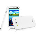IMAK Water Jade Shell Hard Cases Covers for Samsung Galaxy SIII S3 I9300 I9308 I939 I535 - White