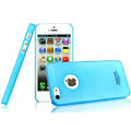 IMAK Water Jade Shell Hard Cases Covers for iPhone 5 - Blue