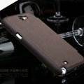 Nillkin England Retro Leather Cases Holster Covers for Samsung N7100 GALAXY Note2 - Brown
