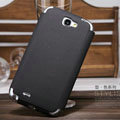 Nillkin Stylish Color Leather Cases Holster Covers for Samsung N7100 GALAXY Note2 - Black