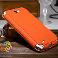Nillkin Stylish Color Leather Cases Holster Covers for Samsung N7100 GALAXY Note2 - Orange
