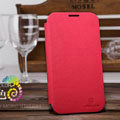 Nillkin Stylish Color Leather Cases Holster Covers for Samsung N7100 GALAXY Note2 - Red