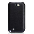 Nillkin leather Cases Holster Covers for Samsung N7100 GALAXY Note2 - Black