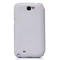Nillkin leather Cases Holster Covers for Samsung N7100 GALAXY Note2 - White