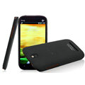 IMAK Ultrathin Matte Color Covers Hard Cases for HTC T528t One ST - Black