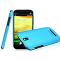 IMAK Ultrathin Matte Color Covers Hard Cases for HTC T528t One ST - Blue