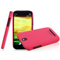 IMAK Ultrathin Matte Color Covers Hard Cases for HTC T528t One ST - Rose