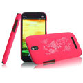 IMAK Ultrathin Rose Color Covers Hard Cases for HTC T528t One ST - Rose