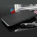 Leather Cases with stent holster Covers skin for Samsung N7100 GALAXY Note2 - Black