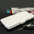 Leather Cases with stent holster Covers skin for Samsung N7100 GALAXY Note2 - White