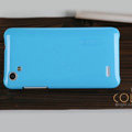 Nillkin Colourful Hard Cases Covers Skin for HTC T528d One SC - Blue