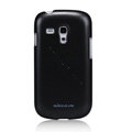 Nillkin Colourful Hard Cases Skin Covers for Samsung I8190 GALAXY SIII Mini - Black
