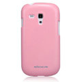 Nillkin Colourful Hard Cases Skin Covers for Samsung I8190 GALAXY SIII Mini - Pink